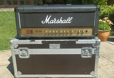 Marshall JCM 2000 DSL 50 Guitar Amplifier Head with Custom Flightcase Valve amp.