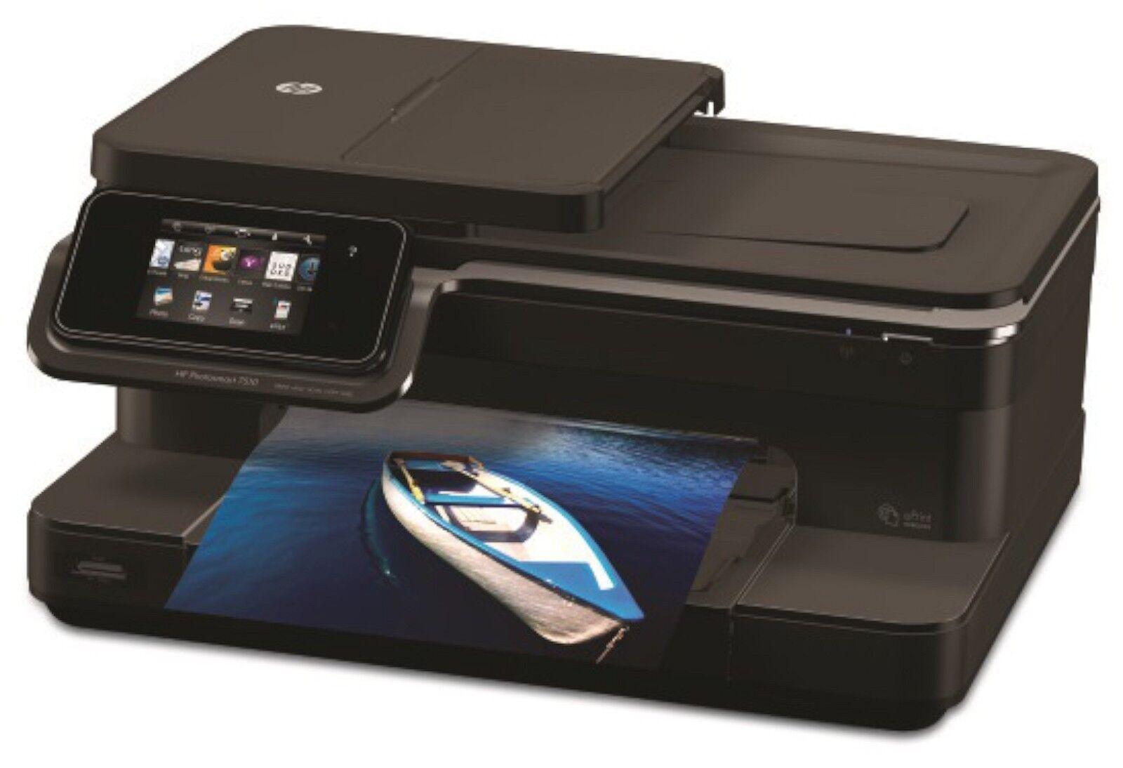 Hp Photosmart Print Scan Copy 7510 All In One Desktop