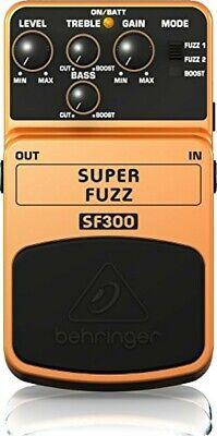 Behringer Guitar Effect Pedal Super Fuzz SF300