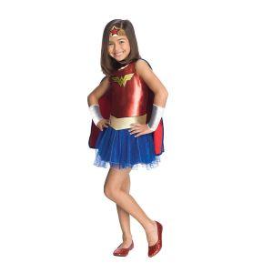 Girls Wonder Woman Tutu Halloween Costume