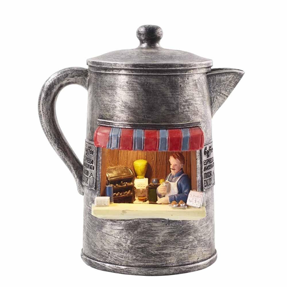 Florissima Tischlampe Tischleuchte Motivlampe  Kaffeekanne Weihnachten 188995000