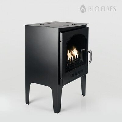 Bio Fires - Wood Burner Style Traditional Bioethanol Stove With Logs