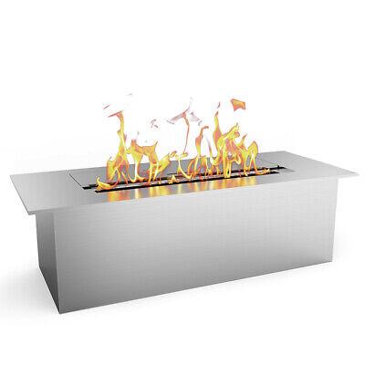 Elite Flame Slim 12 Inch Bio Ethanol Fireplace Burner Insert 1.5 Liter