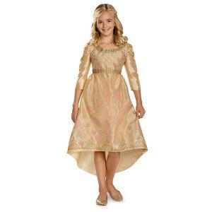 Girls Aurora Coronation Gown Classic Halloween Costume