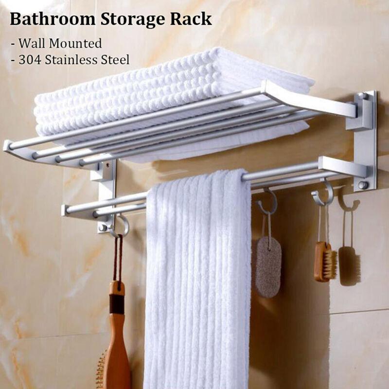 304 stainless steel bathroom storage