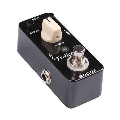 Mooer MTR1 Micro Series Trelicopter Optical Tremolo Guitar Effects Pedal