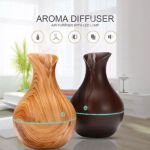 LED Ultrasonic Aroma Humidifier Essential Oil Diffuser Aromatherapy Air Purifier