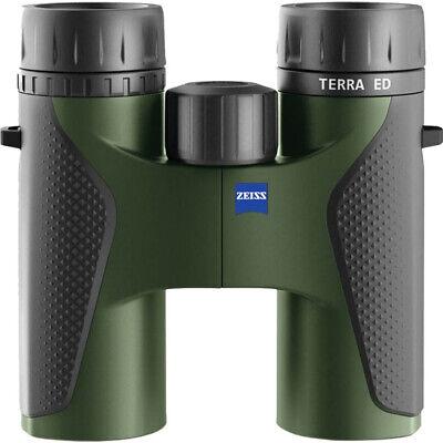 ZEISS TERRA ED 10X32 BINOCULARS (BLACK/GREEN)