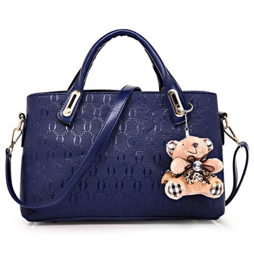 5Pcs/Set Women Lady Leather Handbags Messenger Shoulder Bags Tote Satchel Purse 8