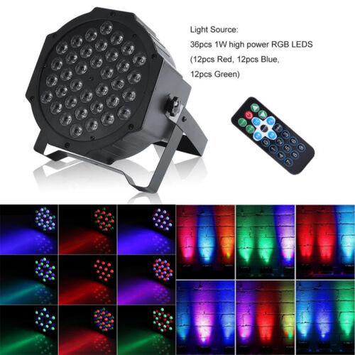 2x Bühnenlicht DMX Bühnenbeleuchtung 72W 36LED DJ Disco Party Pub Lichteffekt ST