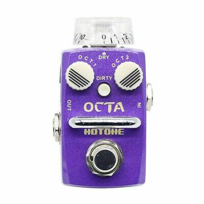 Hotone Skyline Octa Digital Polyphonic Organ Octave Guitar Bass Effects Pedal SO