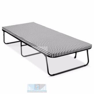 Foldable Guest Bed With Mattress Single