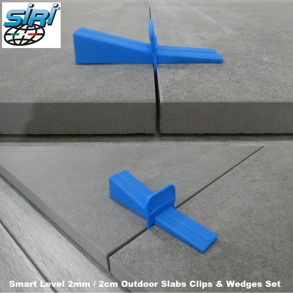 2cm outdoor slabs 2mm tile spacers