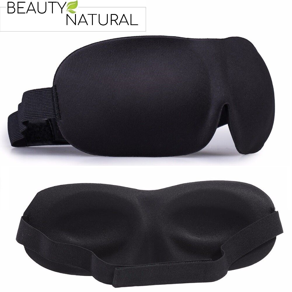 Premium BeautyNatural 3D Schlafmaske Augenmaske Schlafbrille Augenbinde Maske