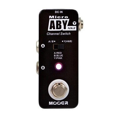 Mooer ABY MKII The Comprehensive Channel Switch Guitar Effect Pedal True Bypass