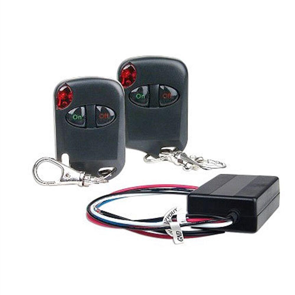 New Heavy Duty Universal 12 Volt 12V Remote Control Kit