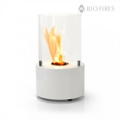 Bio Fires - Sorrento White Bio Ethanol Tabletop Burner