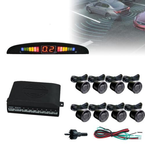 8 Sensoren Einparkhilfe Rückfahrwarner Einparkhilfe mit Display Parksensoren PDC