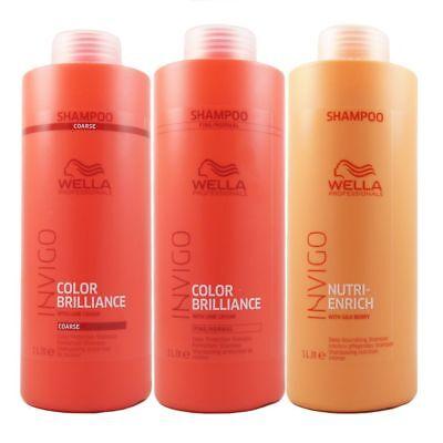 Wella INVIGO Brilliance / INVIGO Nutri-Enrich Deep Nourishing Shampoo 1000 ml