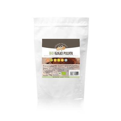 Bio Kakao Pulver 1kg Criollo Edelkakao aus Peru Rohkost DE-ÖKO-003