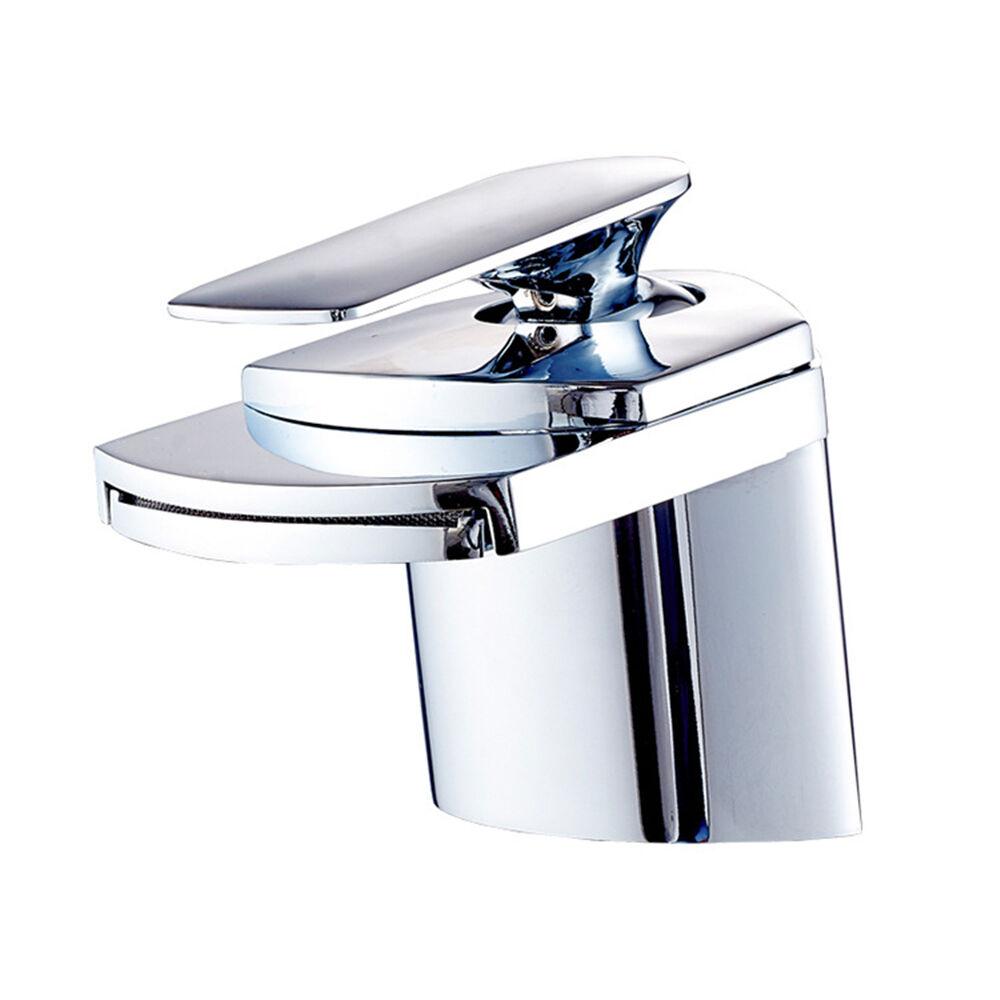 Luxus Wasserfall Armatur Waschtischarmatur Wasserhahn Bad ...