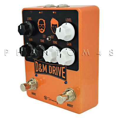 Keeley D&M Drive - Drive and Boost Guitar Effects Pedal - NEW