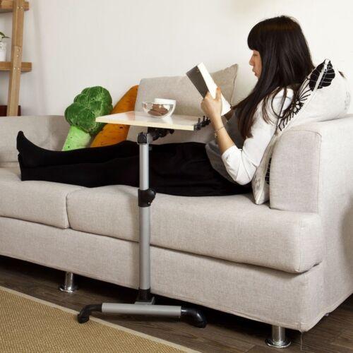 SoBuy® Pflegetisch,Betttisch,Laptoptisch, Beistelltisch,FBT07N-W