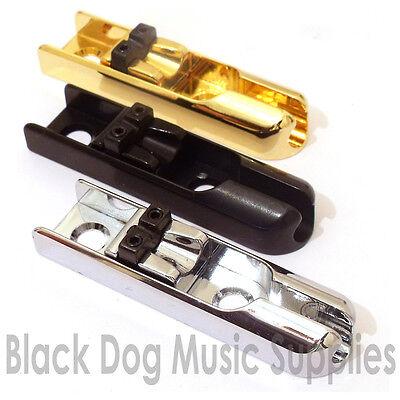 einzelne E-Bass Brücke Stücke Komplettset chrom schwarz gold 4 5 OR 6 Saiten