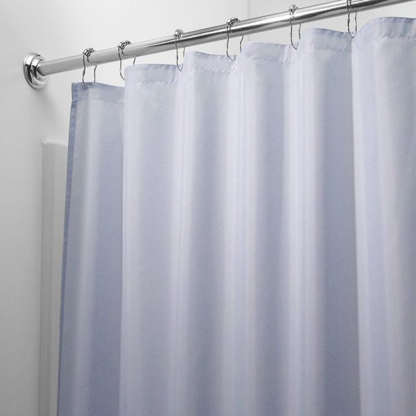 HEAVY DUTY MILDEW FREE VINYL WATERPROOF SHOWER CURTAIN LINER WITH MAGNETS NEW 5