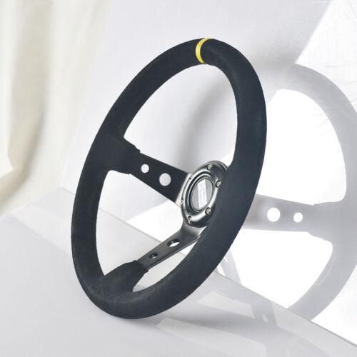 Motorsport  Lenkrad Schwarz  350 mm geschüsselt  , Sportlenkrad, Rallye, Racing