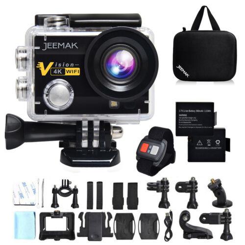 JEEMAK ACT74R Sports Kamera Action Cam 4K WiFi FHD Wasserdichte 2.0