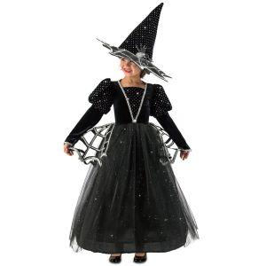 Girls Diamond Witch Glitter Halloween Costume