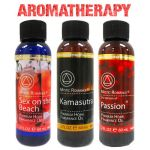 3 Premium Aromatherapy Fragrance Diffuser Oils Gift Set 60mL Air Purifier Scents