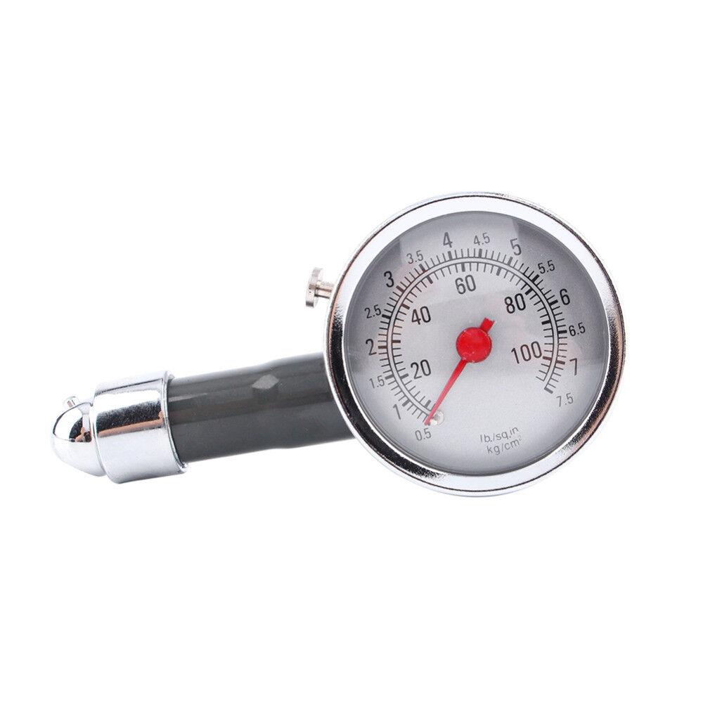 Reifendruckprüfer Luftdruckprüfer Reifendruckmesser Manometer Metall 0-7 bar