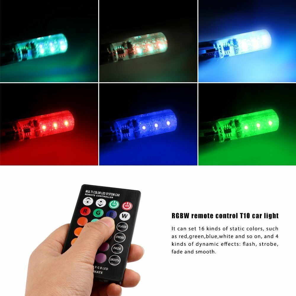 Remote Control Multicolor Led Light Bulb