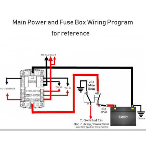 12v fuse panel wiring diagram  wiring diagram conductor