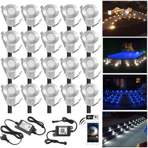 0,4W 12V Φ19mm WIFI Kontroller Einbaustrahler LED Leuchte Außenlampe Beleuchtung