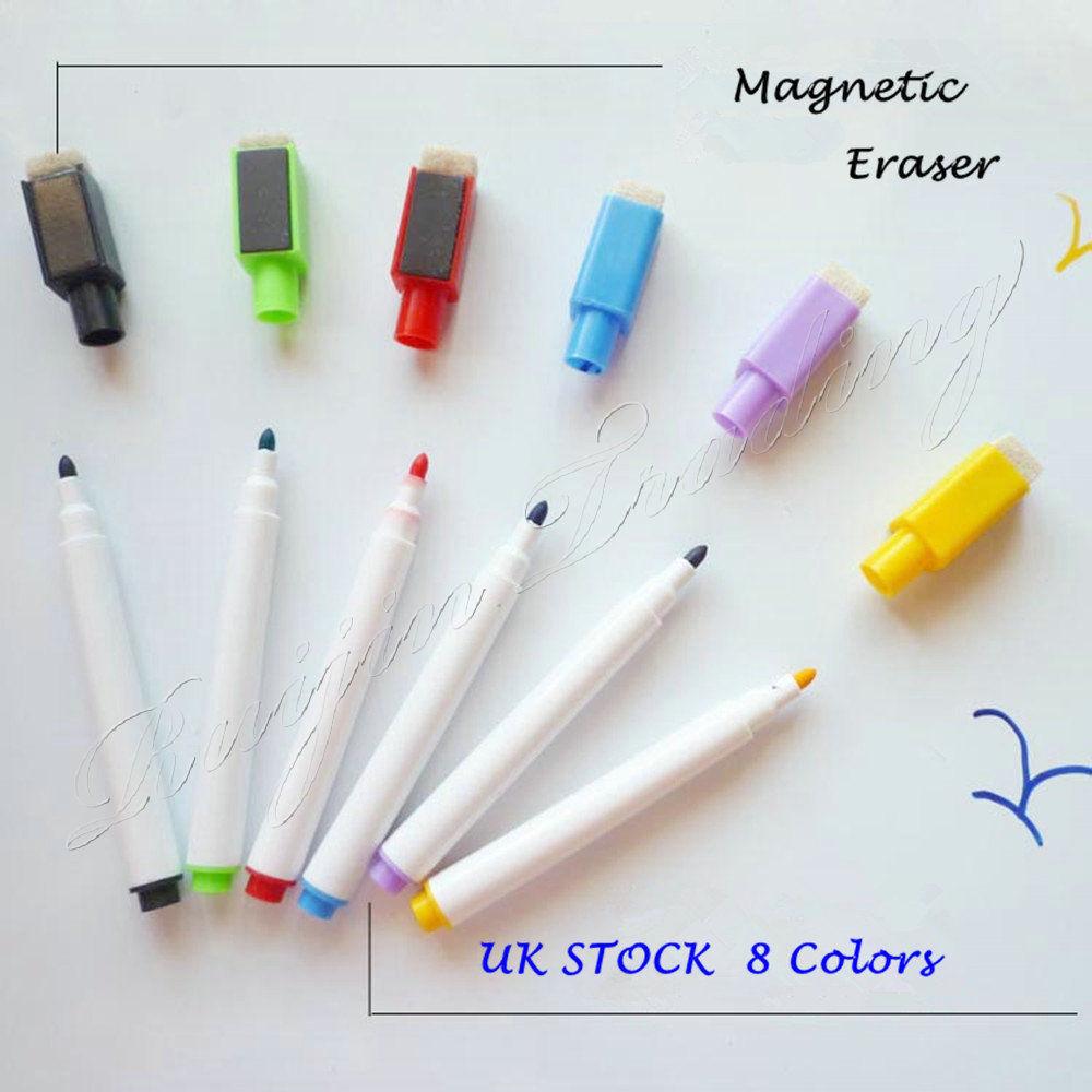 Whiteboardmarker Whiteboard Marker Set 8 Farben Magnettafel Stifte