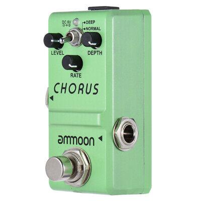 Ammoon Nano Series Guitar Effect Pedal Analog Chorus True Bypass Aluminum I2V2