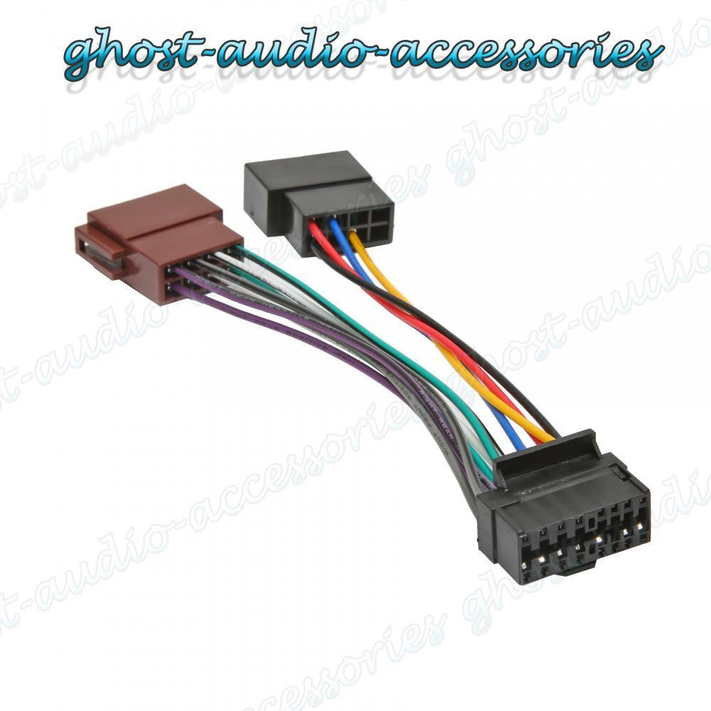 Jvc 16 Pin Car Stereo Radio Iso Wiring Harness Connector