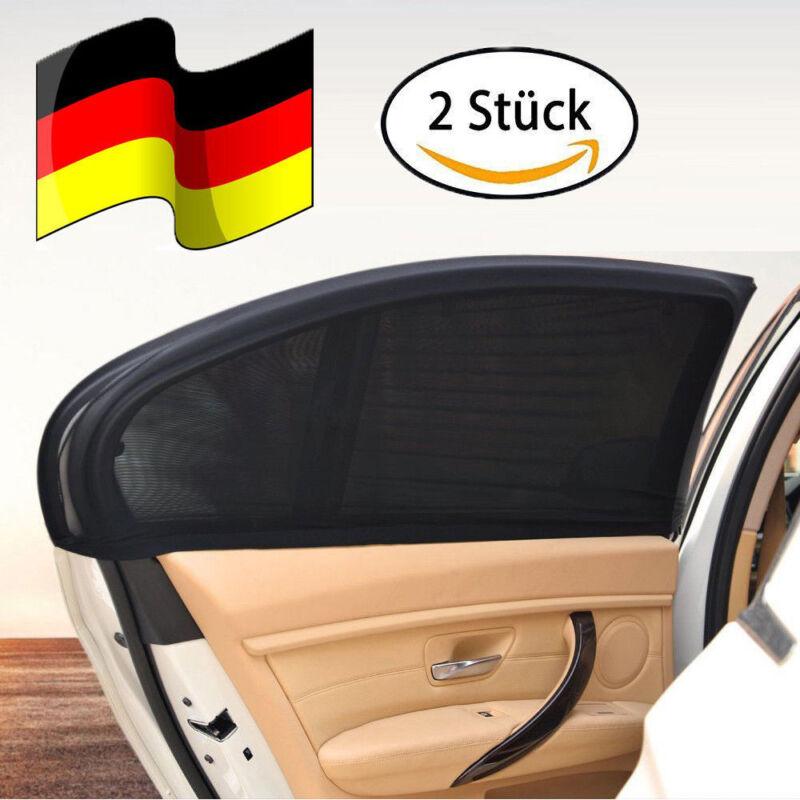 2Stk Sonnenschutz Rollo Seitenfenster Sonnenblende für Auto Kinder Abdeckung XL
