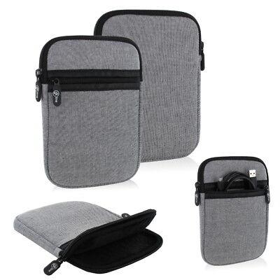 gk line Ebook Reader Tasche Etui Hülle Case für Amazon Kindle Paperwhite 3G grau