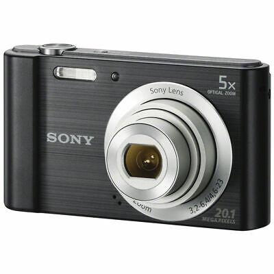 Sony Cyber-shot DSC-W800 Digital Camera (Black) DSCW800/B
