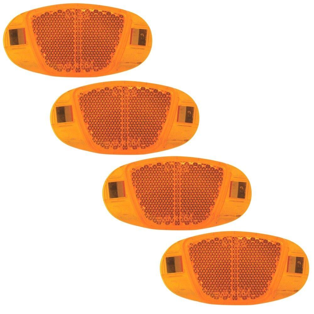 4 Stk Katzenaugen Speichenreflektoren Speichenstrahler Fahrrad Reflektoren