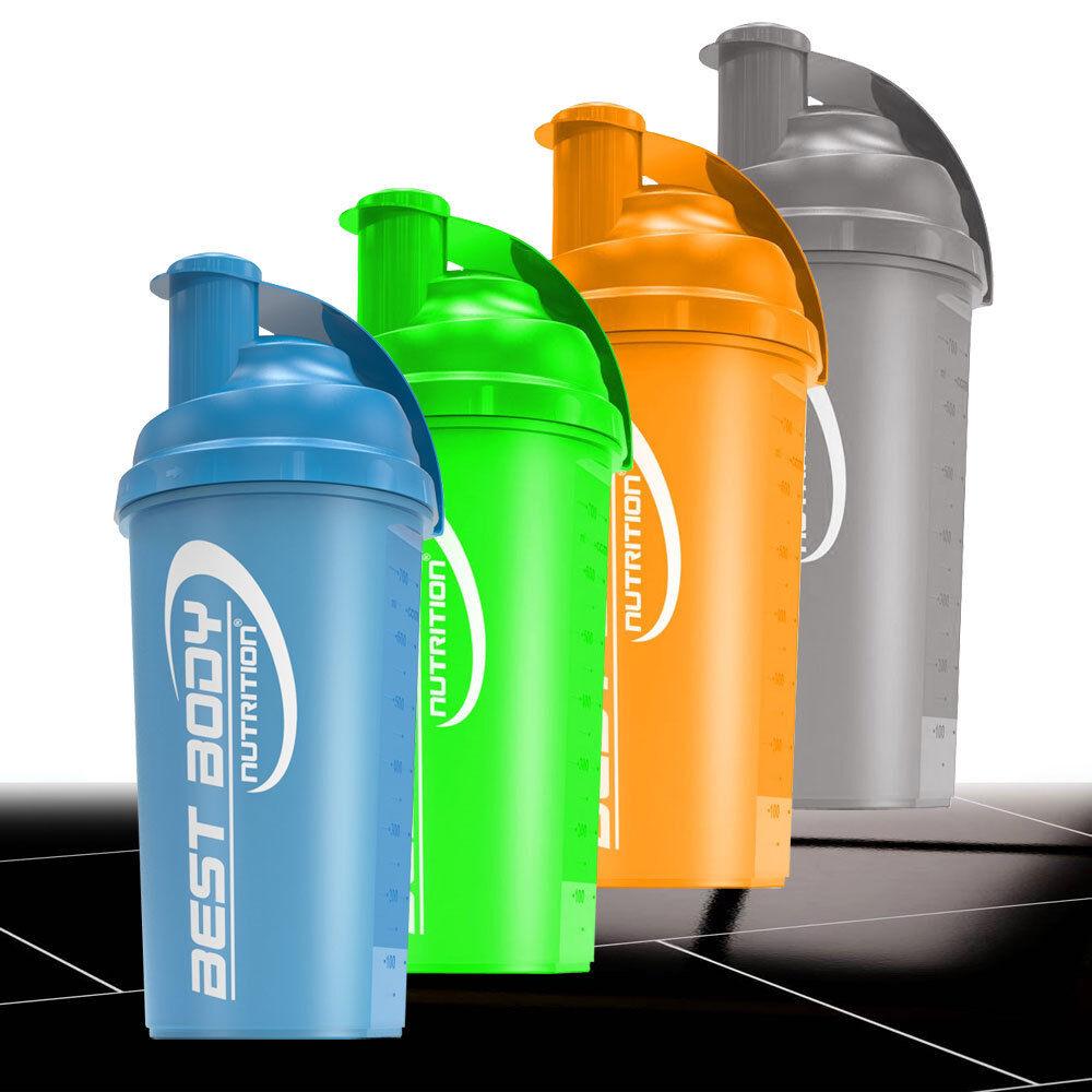 Best Body Nutrition 2 Stück Eiweiss Protein Shaker Mixer 700 ml BPA-frei
