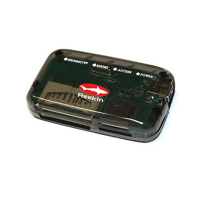 Reekin PC extern Cardreader 7 in 1 SDHC MMC MicroSD SD USB 2.0 Kartenlesegerät
