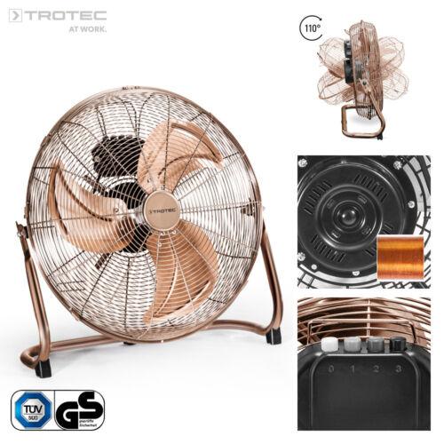 TROTEC Bodenventilator TVM 17 Windmaschine Lüfter Ventilator 100 Watt 45 cm