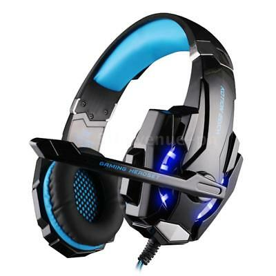 G9000 Kopfhörer Gaming Headset USB Stereo Surround LED Mic für PS4 PC Handy