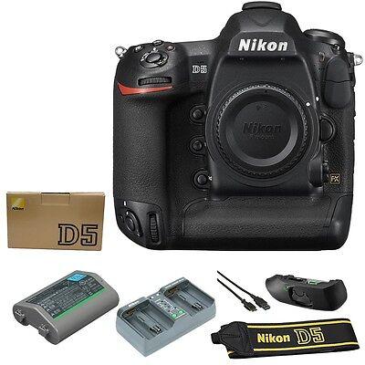Nikon D5 DSLR Camera Body (Dual CF, Slots)