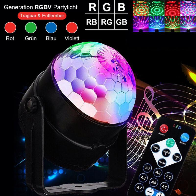 Lichteffekt LED Discolicht Bühnenbeleuchtung DJ Discokugel Partylicht Discolampe